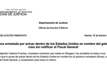 Mexicano acusado de espía ruso en EU
