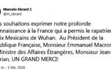 Francia apoya a México