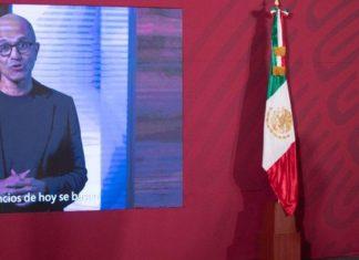 Microsoft inversión para México