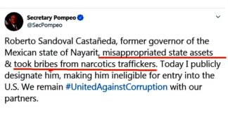 EU prohíbe entrada a ex gobernador de Nayarit