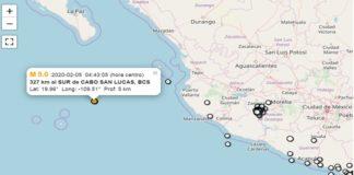 BCS, sismo sin alertas