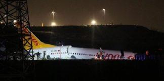 Turquía, atiende emergencia por avión