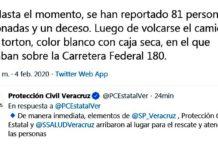 Migrantes, Veracruz, Protección civil