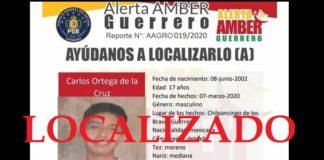 Ayotzinapa: localizado hijo de vocero de familiares