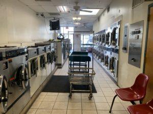 lavandería vacía en Washington