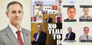 Comparten memes y stickers de López-Gatell en redes