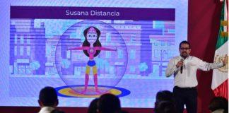Salud: Susana Distancia