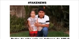 Responde padre de la menor, sale en defensa del Presidente