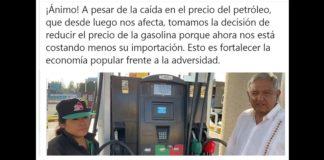AMLO gasolina
