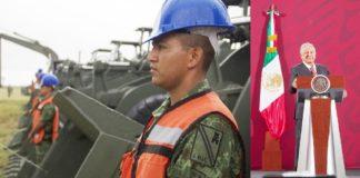 AMLO, Sedena construirá 2 tramos de Tren Maya