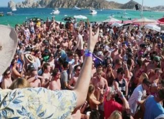 Spring breakers dan positivo en Covid, viajaron a Cabo San Lucas