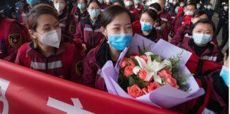 China, brigadas médicas regresan a casa ¡heroínas y héroes!