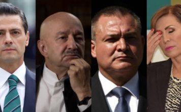 Peña, Salinas, García Luna, Robles, considerados los más corruptos