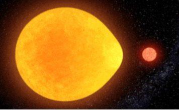 Científicos descubren estrella en forma de lágrima