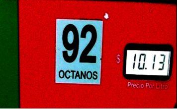 Gasolina baja de precio
