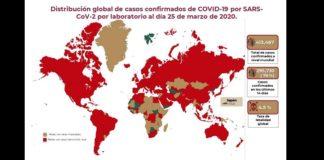Covid, informe del 25 de marzo