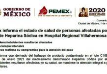 Pemex informa