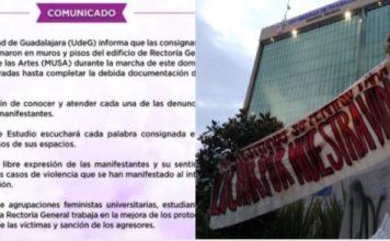 Universidad de Guadalajara documentará pintas de alumnas