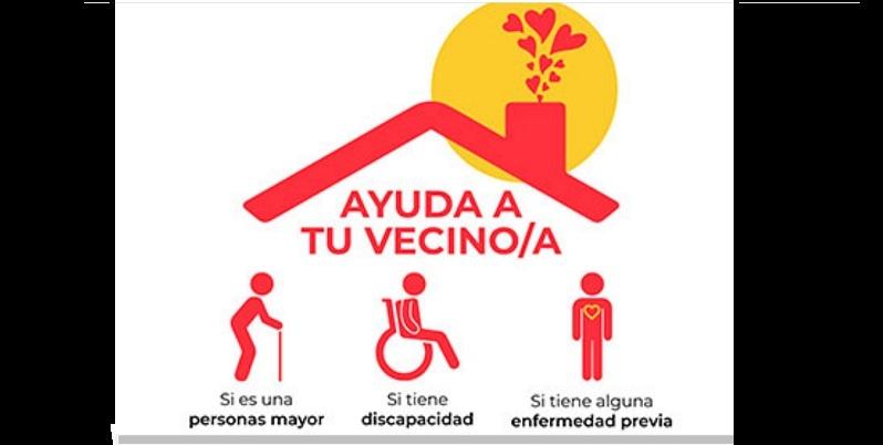 Covid: vecinos solidarios
