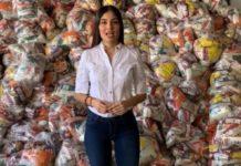Diputada de Morena dona dos meses de salario para despensas