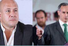 Alfaro se va en contra de López-Gatell por pruebas rápidas