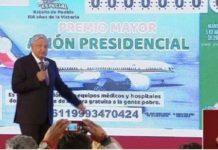 Adelante con rifa de avión Presidencial