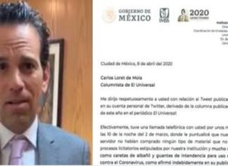 Director del Centro Médico expone mentiras de Loret de Mola